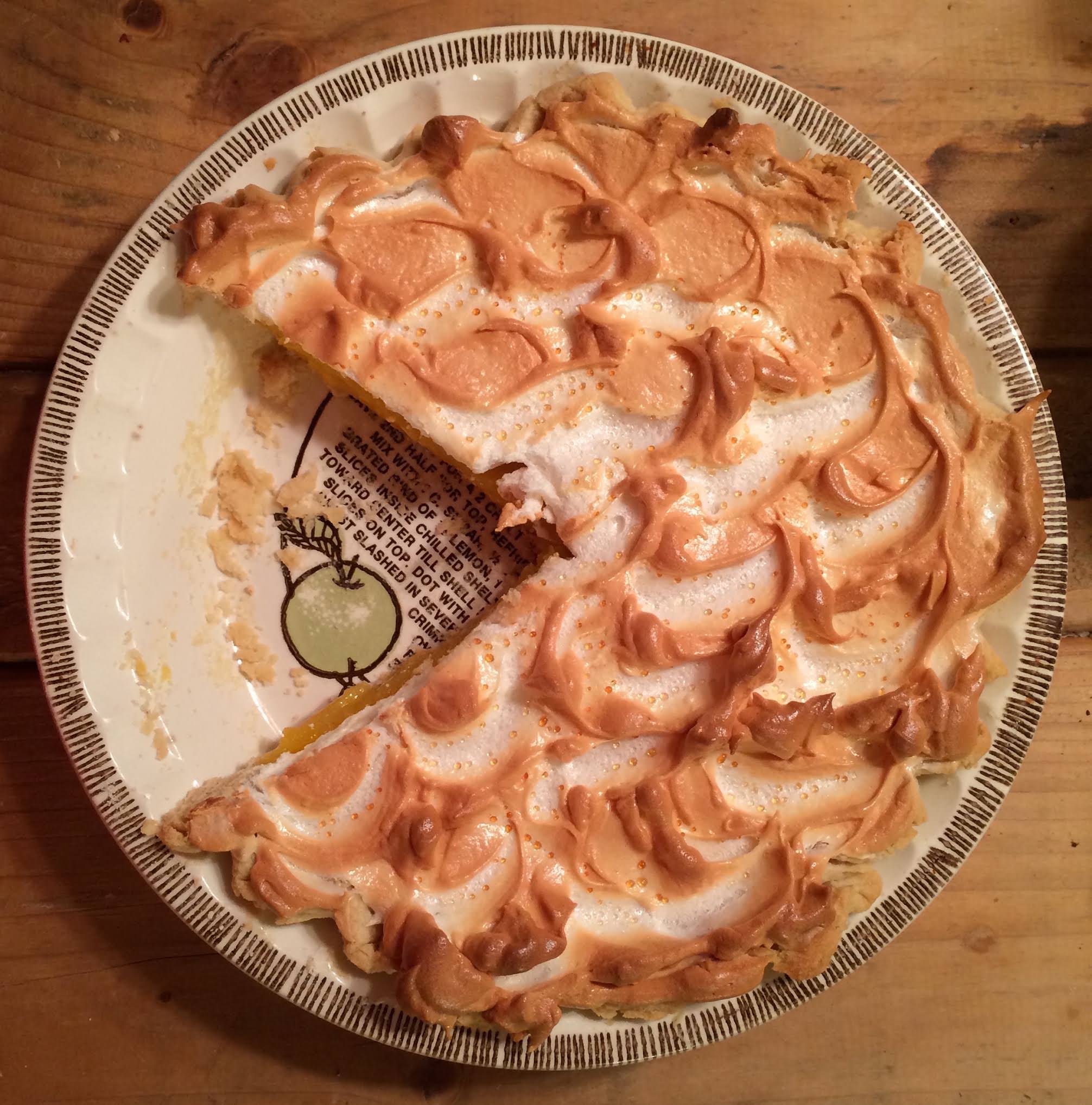 Recipe: Microwave Lemon Meringue Pie